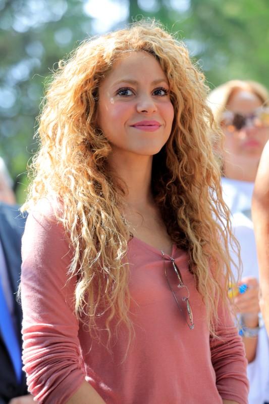 FILE PHOTO: Colombian singer Shakira visits Tannourine Cedars Reserve, in Tannourine