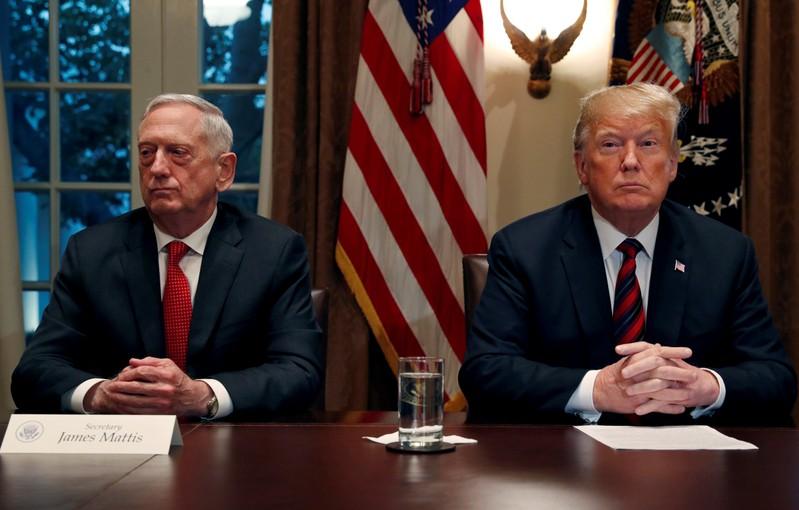 US Secretary of Defense Jim Mattis to step down