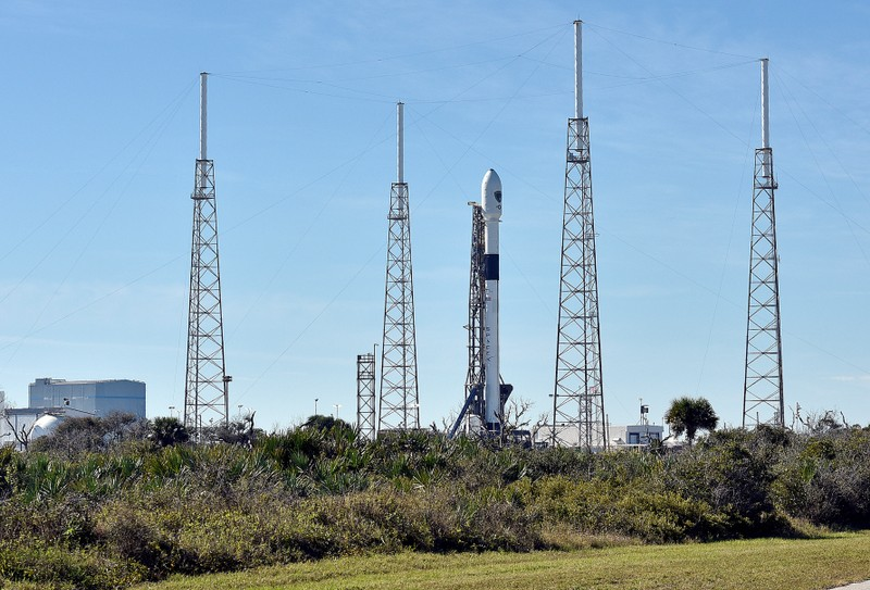 SpaceX to retry launch in first USA national security space mission