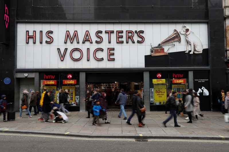 Sheffield jobs at risk as HMV nears collapse