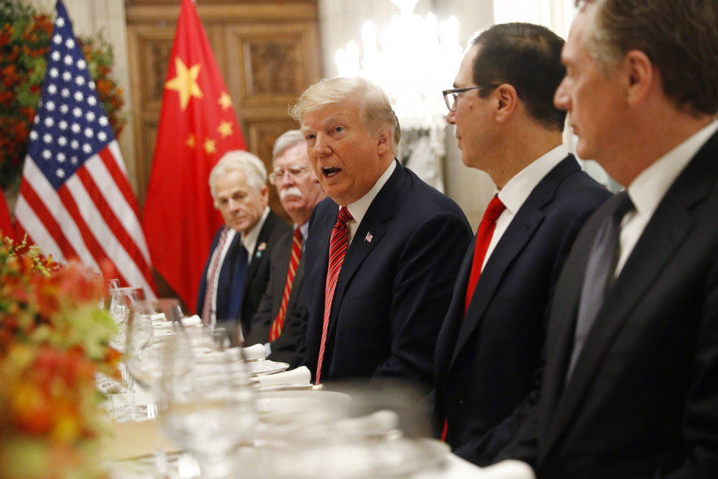 USA  agrees to suspend new China tariffs for 90 days