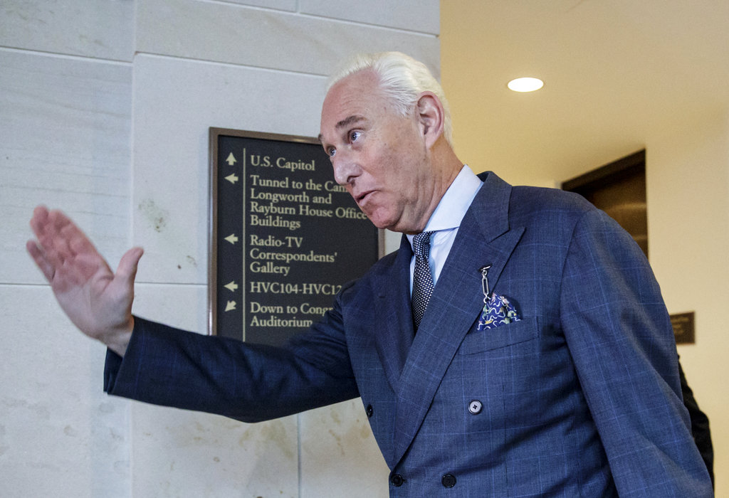 Roger Stone invokes Fifth Amendment right to reject Senate subpoena
