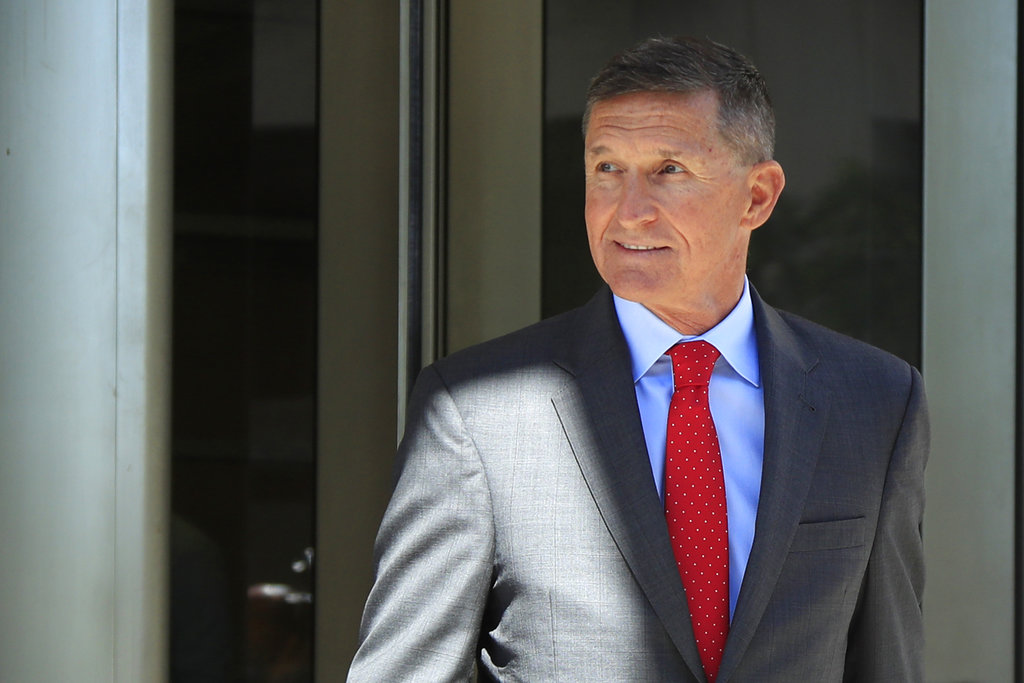 Former Trump adviser Flynn asks for probation in Mueller probe