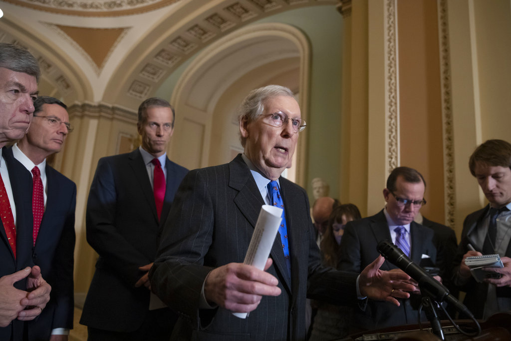 McConnell to introduce short-term spending bill to avoid shutdown