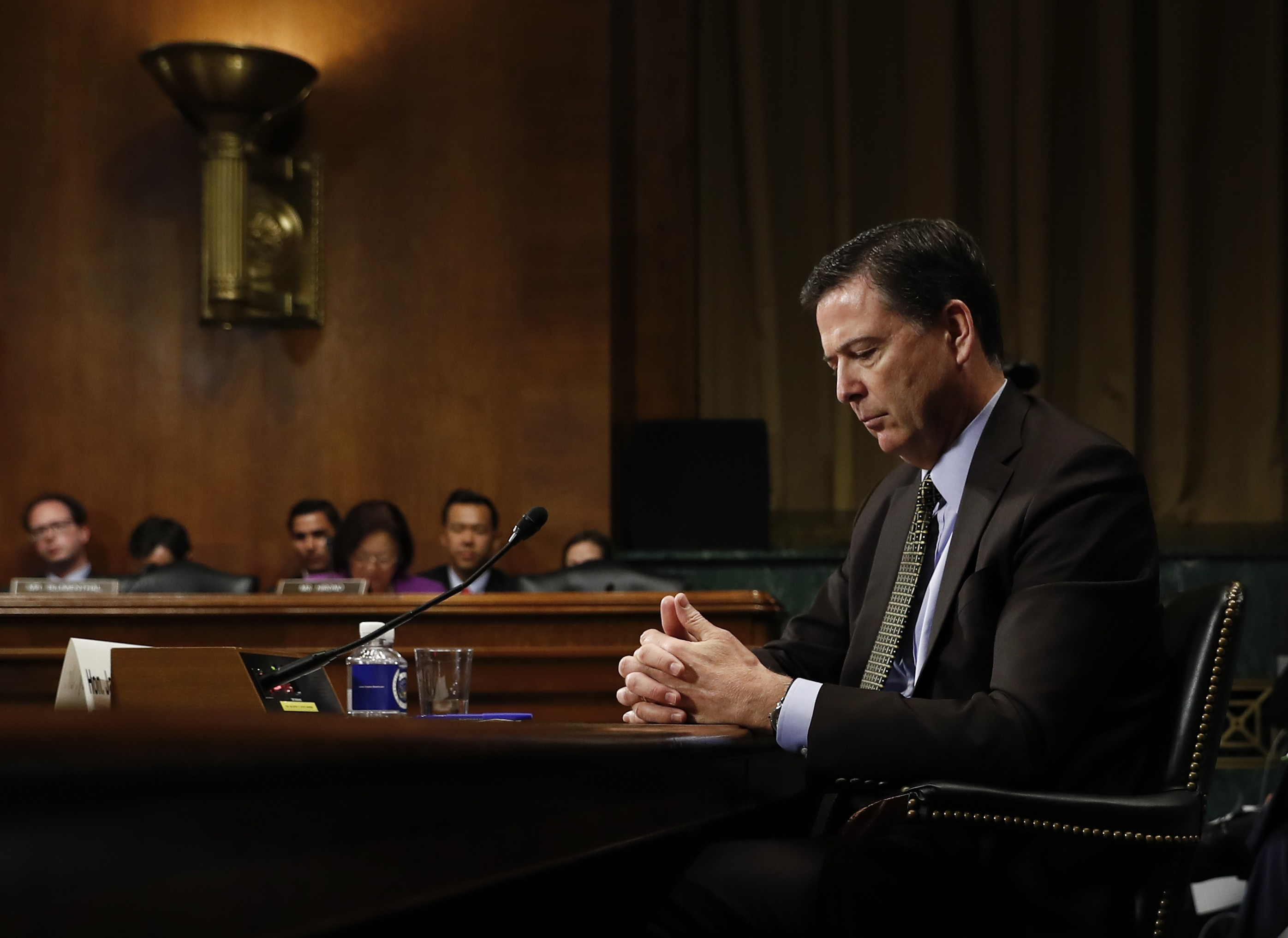Compromise reached on Republican demands for James Comey testimony