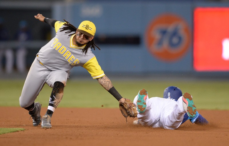 MLB San Diego Padres at Los Angeles Dodgers