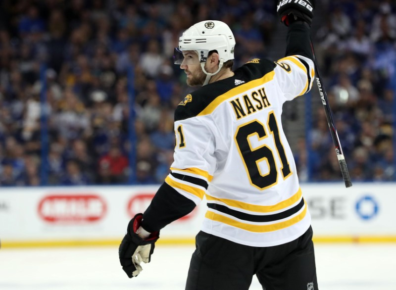 Longtime NHL winger Rick Nash retires