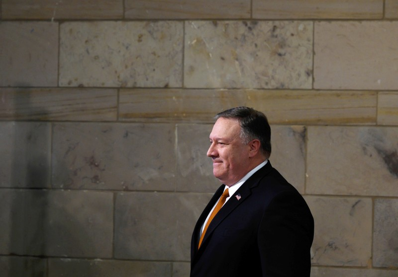FILE PHOTO: U.S. Secretary of State Pompeo visits Egypt