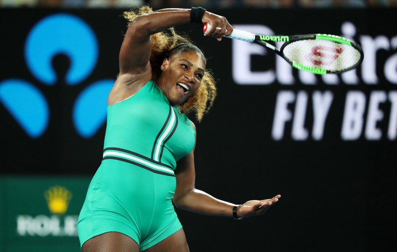 Serena juggles business, motherhood before beating Bouchard
