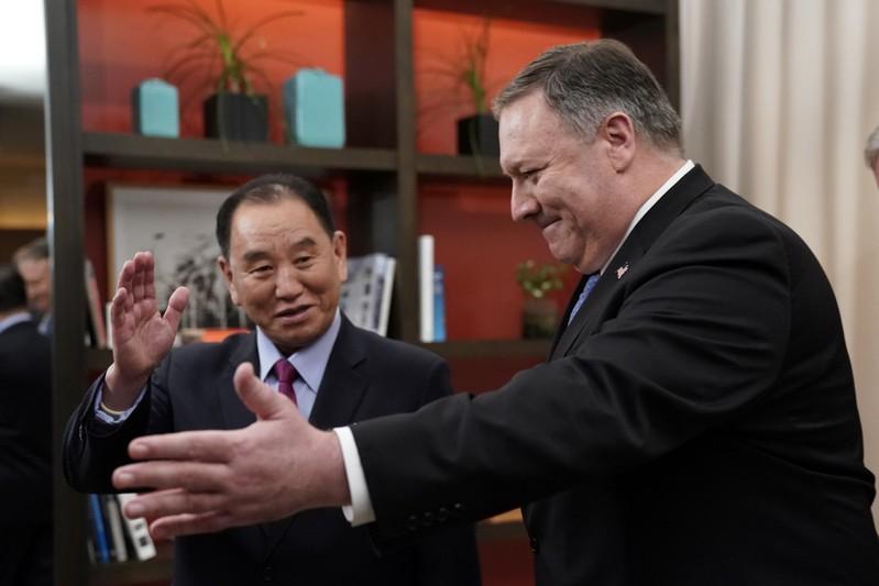 Pompeo's North Korea counterpart arrives in Beijing