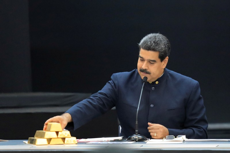Venezuela plans to fly central bank gold reserves to UAE