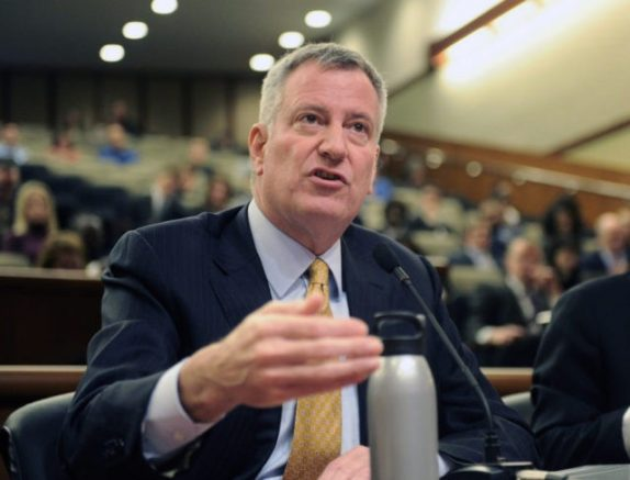 Critics accuse De Blasio of communism for plan to seize private property in N.Y.C | One America News Network