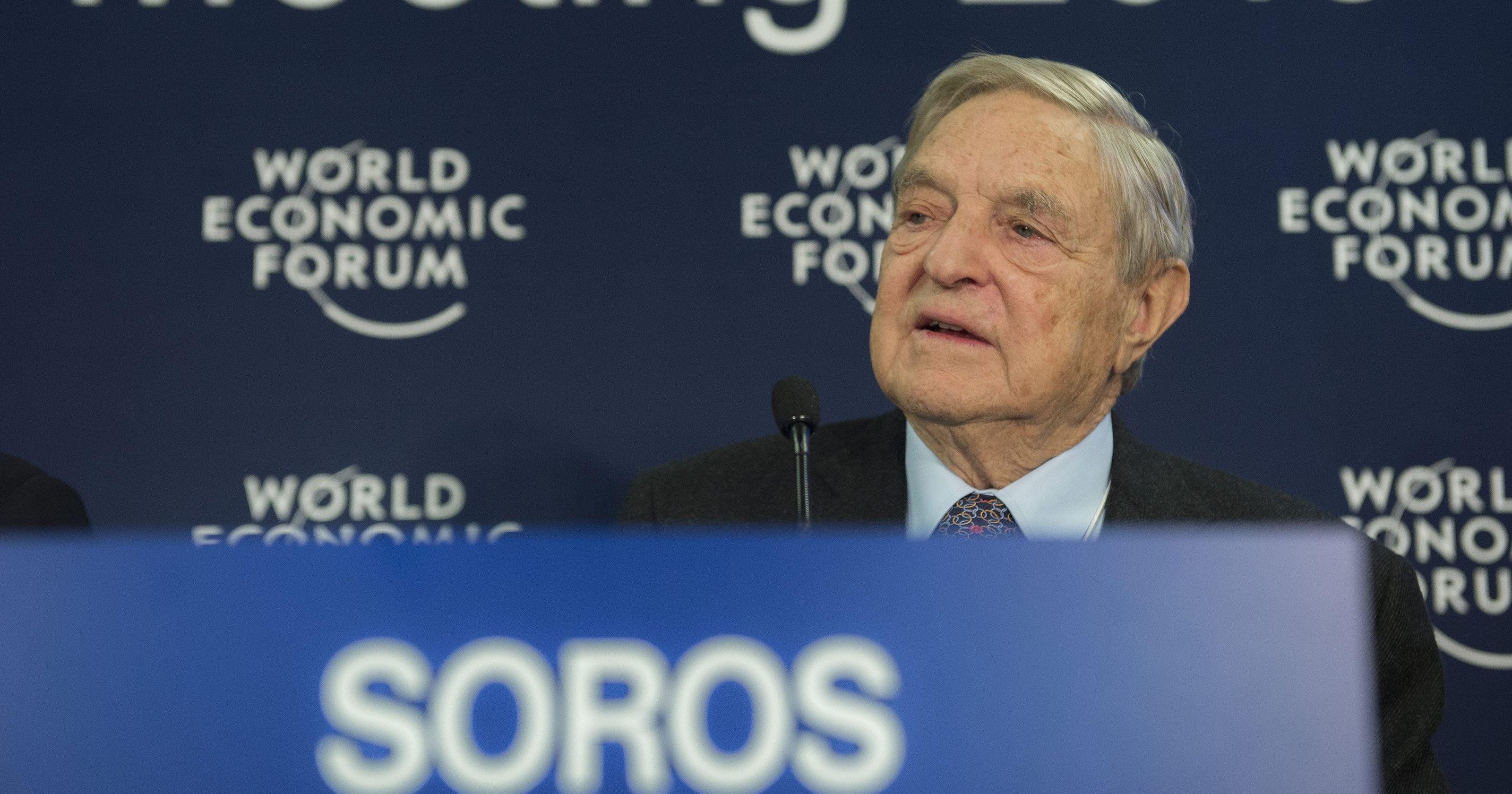 Soros Calls Xi Democracy's Greatest Opponent