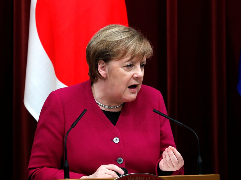 With creativity, we can find Northern Ireland solution, Merkel says