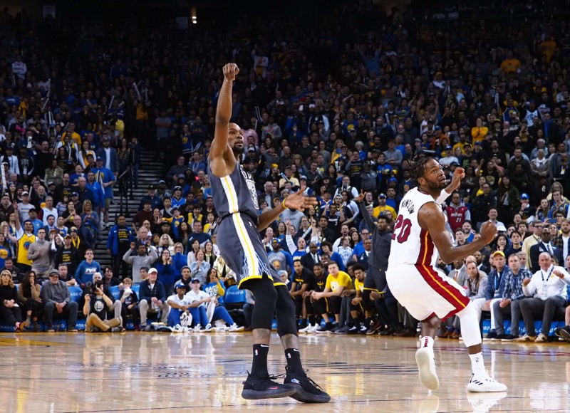 NBA: Miami Heat at Golden State Warriors
