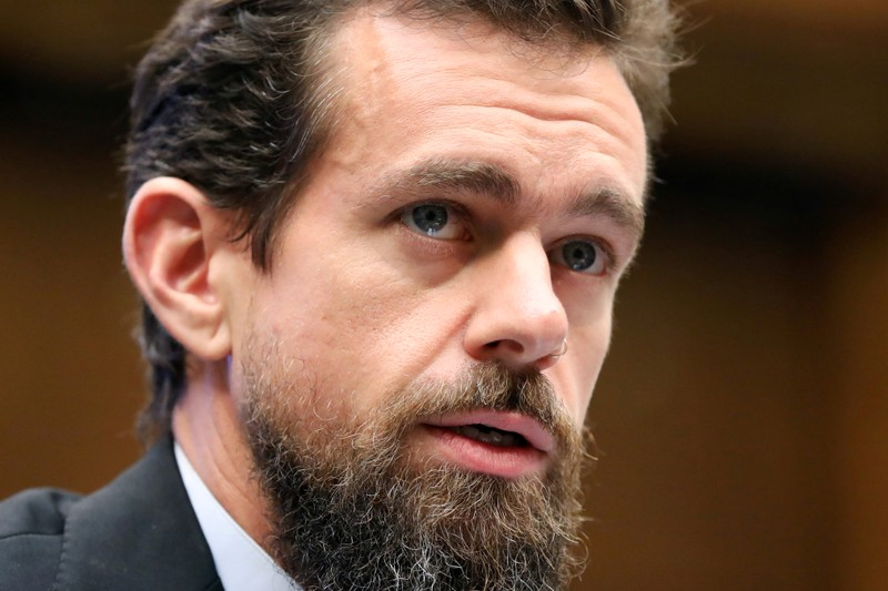 FILE PHOTO: Twitter CEO Jack Dorsey testifies before the House Energy and Commerce Committee on Capitol Hill in Washington