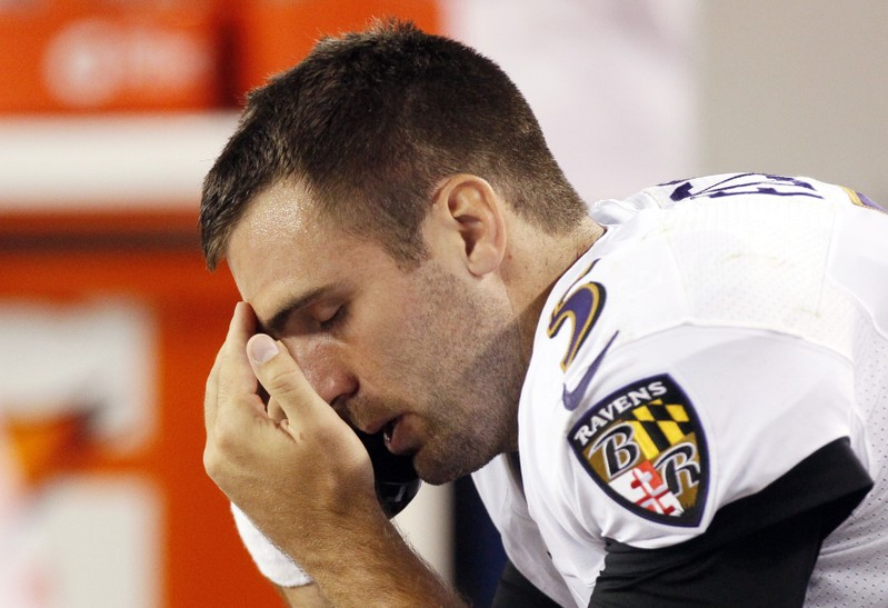 Broncos have agreement to trade for Ravens quarterback Joe Flacco
