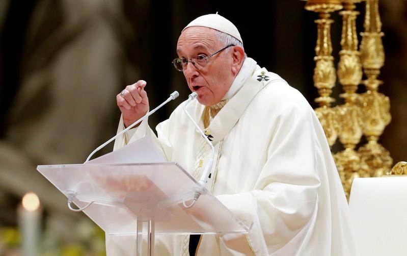 Pope denounces constant accusers as sex abuse survivors