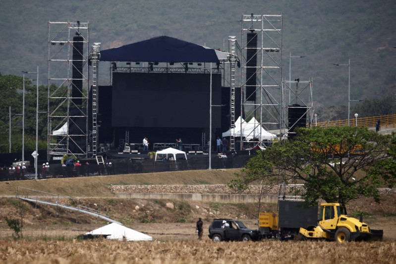 Maduro's anti-Venezuela Aid Live concert gets little support