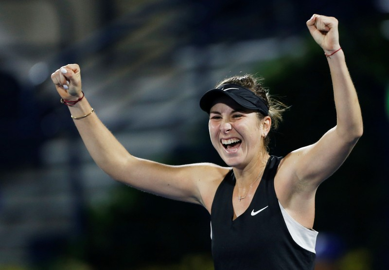 Bencic stuns Svitolina to set up Dubai final with Kvitova
