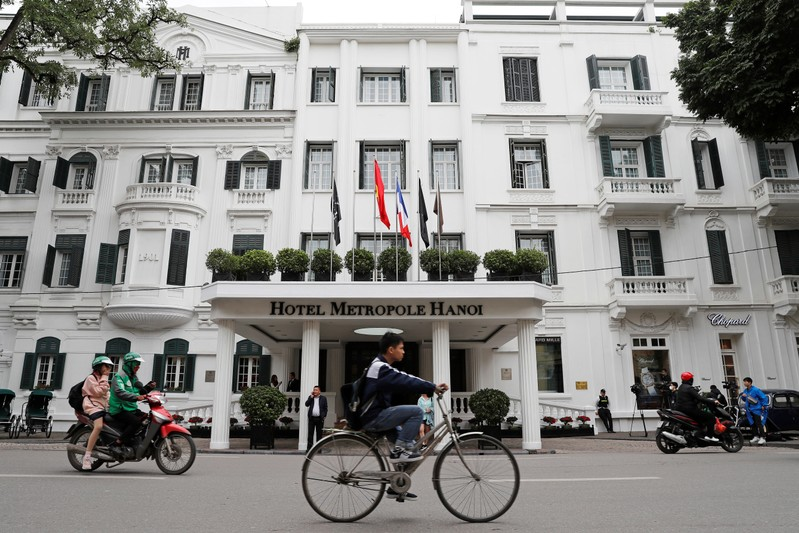 FILE PHOTO - The Metropole hotel is seen ahead of the North Korea-U.S. summit in Hanoi