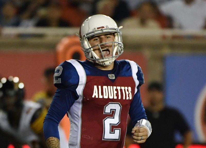 Manziel released, barred from other CFL teams