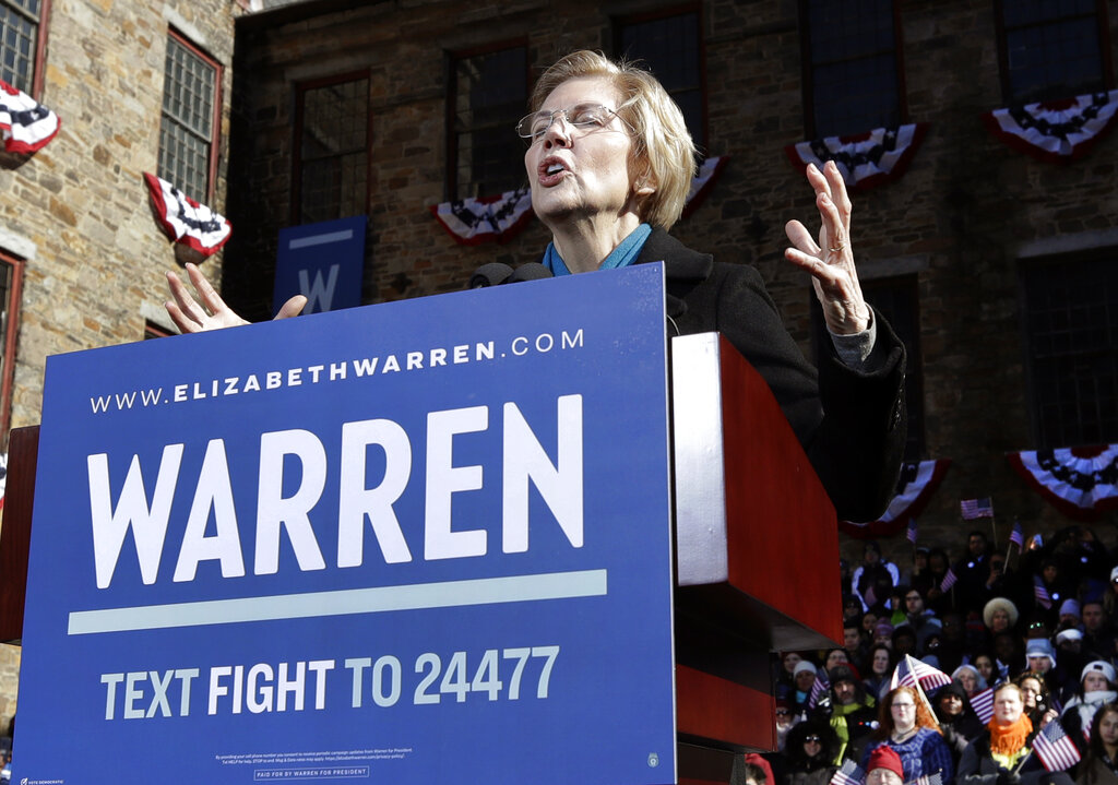 Elizabeth Warren Makes It Official, Announces She's Running For President In 2020