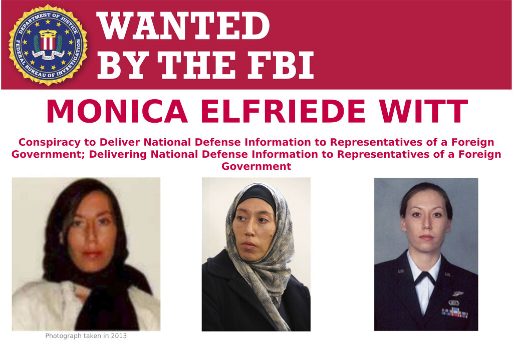 Former U.S. Counterintelligence Agent Charged With Revealing Classified Information to Iran