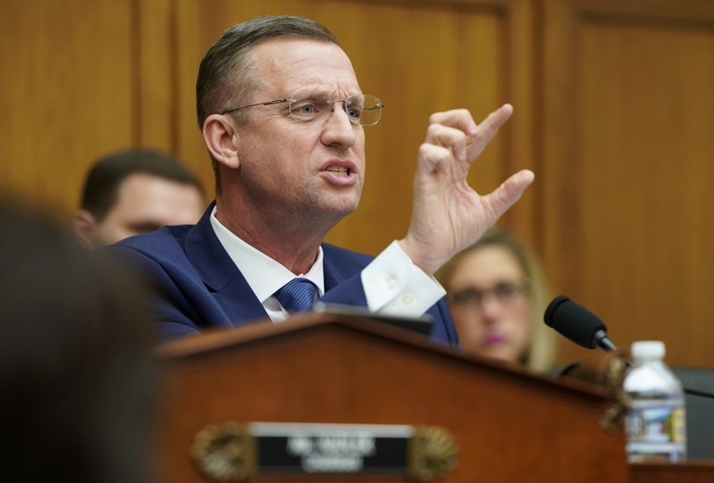 FILE PHOTO - Rep. Doug Collins delivers an opening statement before acting U.S. Attorney General Whitaker testifies before House Judiciary Committee in Washington