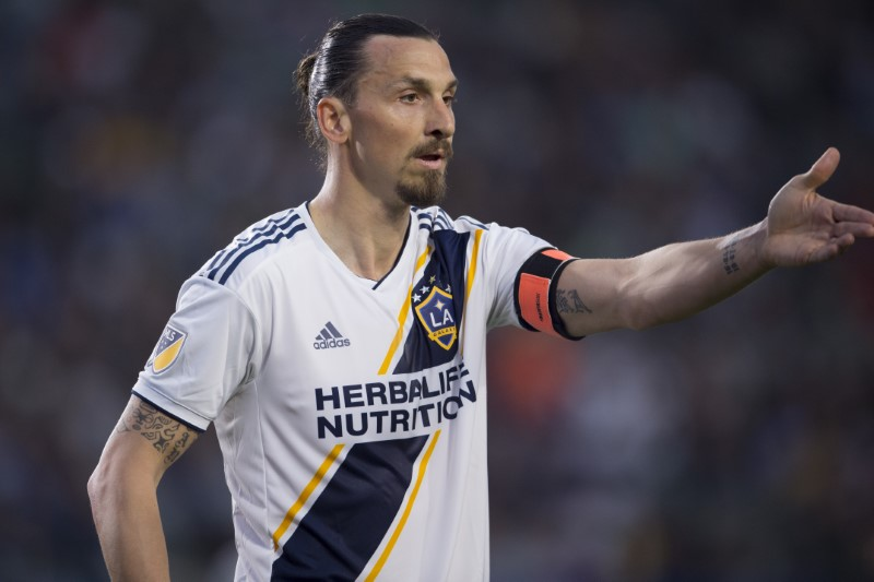 MLS: Chicago Fire at LA Galaxy