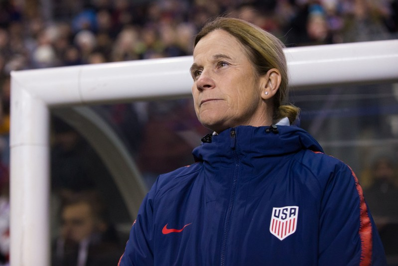 FILE PHOTO: Soccer: She Believes Cup Women's Soccer-Japan at USA