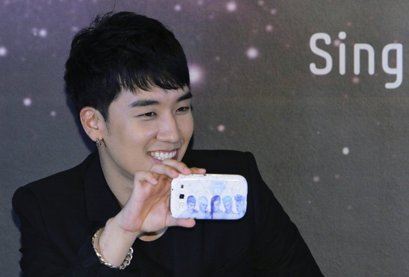 Seungri of South Korean band