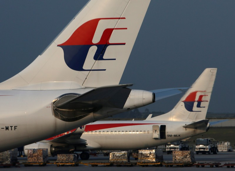 FILE PHOTO: Malaysia Airlines planes sit on the tarmac at Kuala Lumpur International Airport