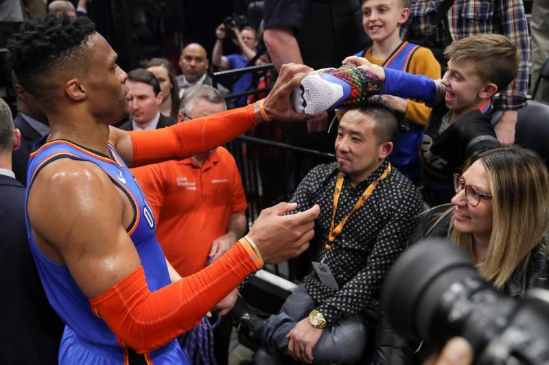FILE PHOTO: NBA: Oklahoma City Thunder at Utah Jazz