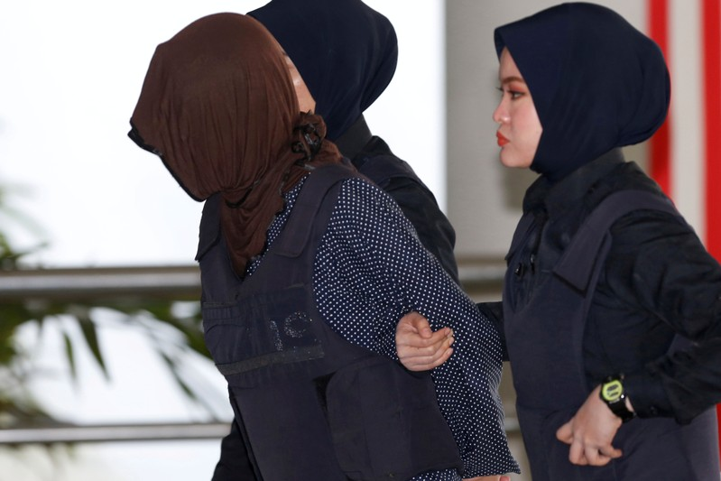 FILE PHOTO: Vietnamese Doan Thi Huong arrives at the Shah Alam High Court on the outskirts of Kuala Lumpur