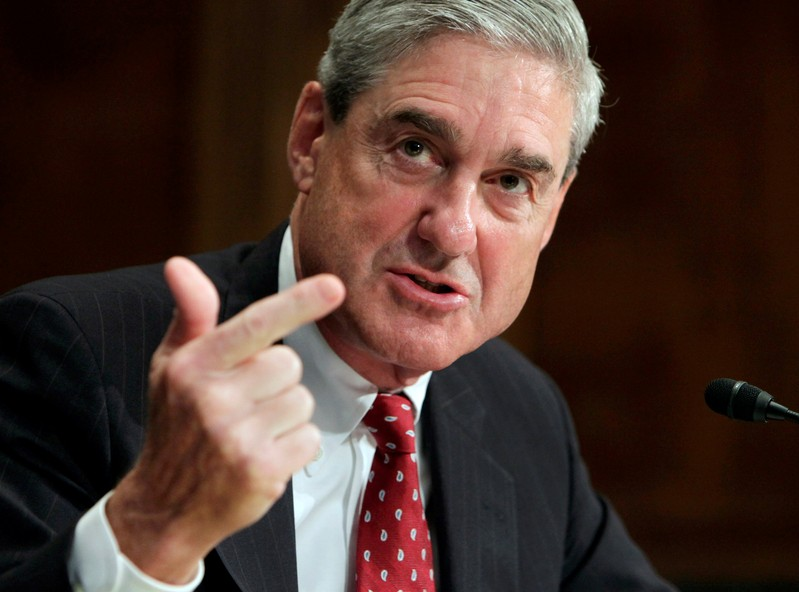 FILE PHOTO: FBI Director Mueller testifies before the Senate Judiciary Committee on Capitol Hill