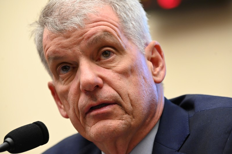 Wells Fargo CEO Sloan testifies before a House Financial Services Committee hearing