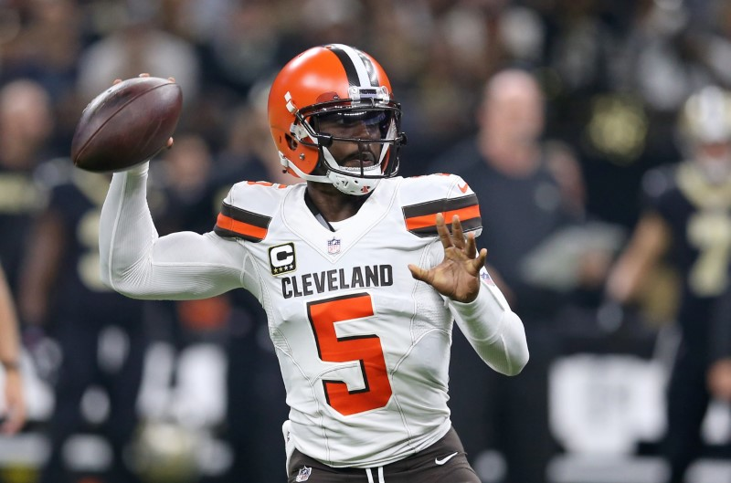 FILE PHOTO: NFL: Cleveland Browns at New Orleans Saints