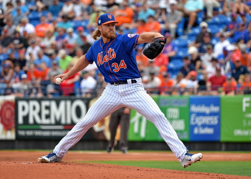 FILE PHOTO: MLB: Spring Training-Houston Astros at New York Mets