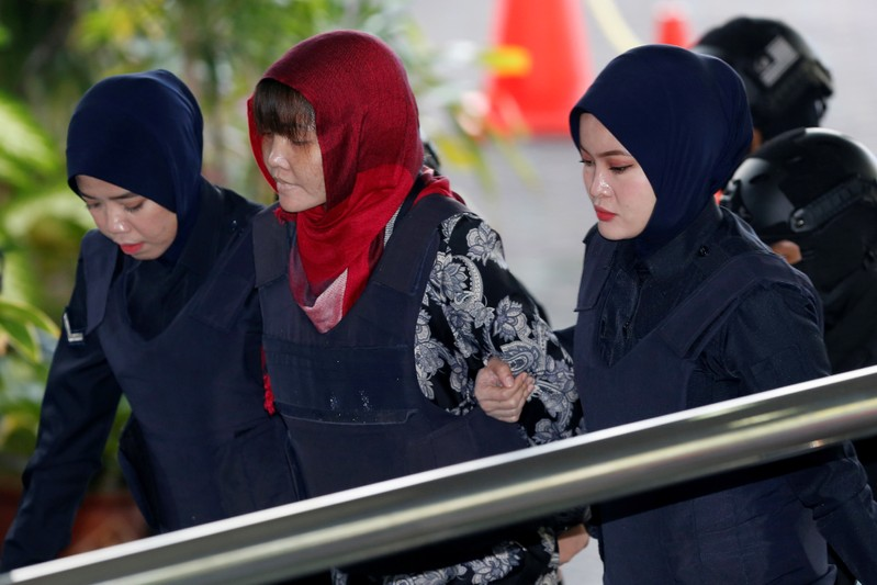 Vietnamese Doan Thi Huong arrives at the Shah Alam High Court on the outskirts of Kuala Lumpur