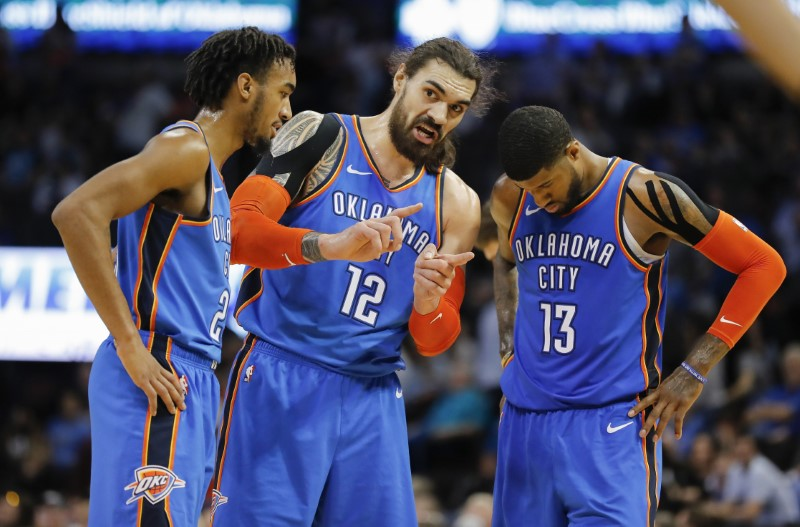 NBA: Brooklyn Nets at Oklahoma City Thunder