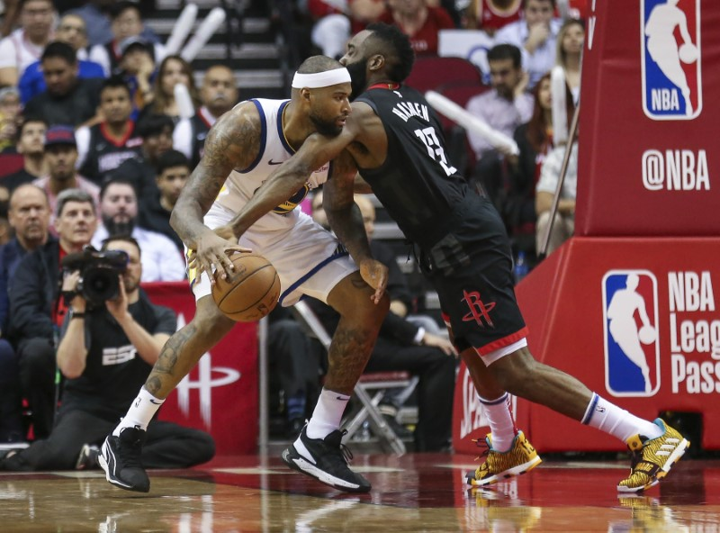 NBA: Golden State Warriors at Houston Rockets