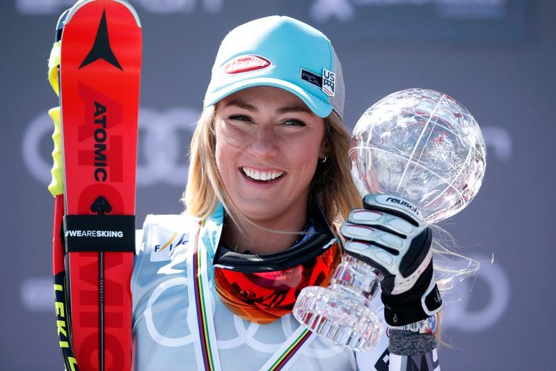 FILE PHOTO: FIS Alpine Skiing World Cup Finals - Women's Super G