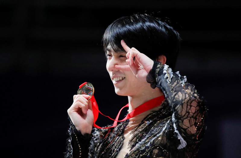 FILE PHOTO: Figure Skating - ISU Grand Prix Rostelecom Cup 2018 - Men's Free Skating