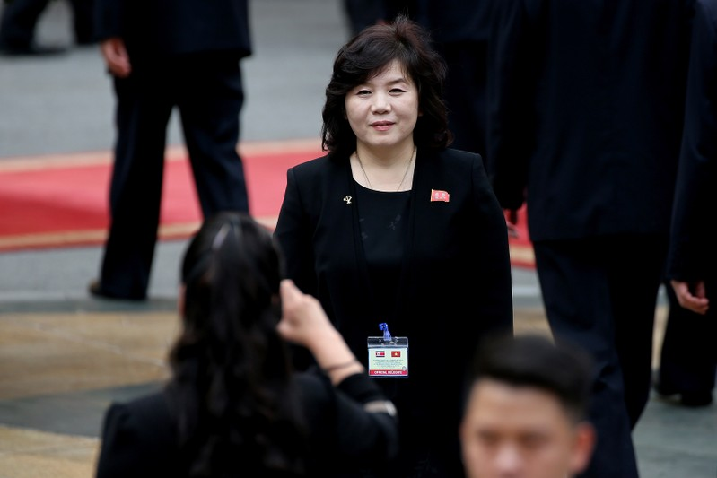 NKorean official: Kim rethinking US talks, launch moratorium