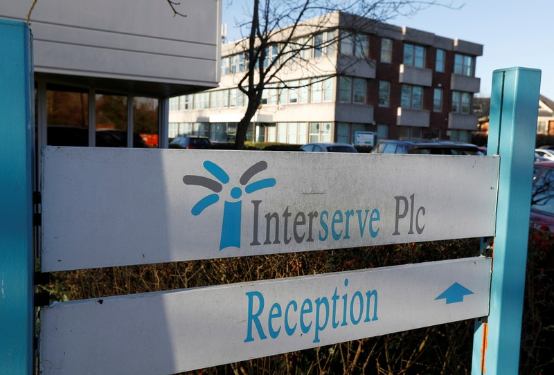 FILE PHOTO: Interserve offices are seen in Twyford