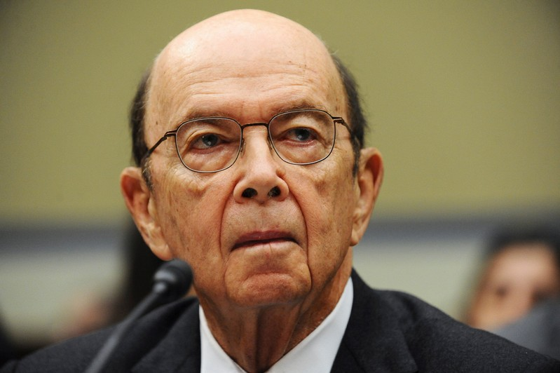 FILE PHOTO: U.S. Commerce Secretary Wilbur Ross testifies before a House Oversight and Reform Committee hearing