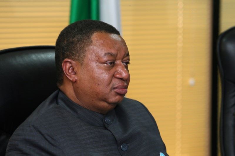 FILE PHOTO: OPEC Secretary General Mohammed Barkindo seen during his visit to Abuja, Nigeria