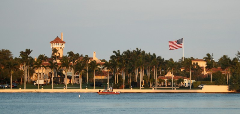FILE PHOTO: Trump's Mar-a-Lago estate in Palm Beach, Florida