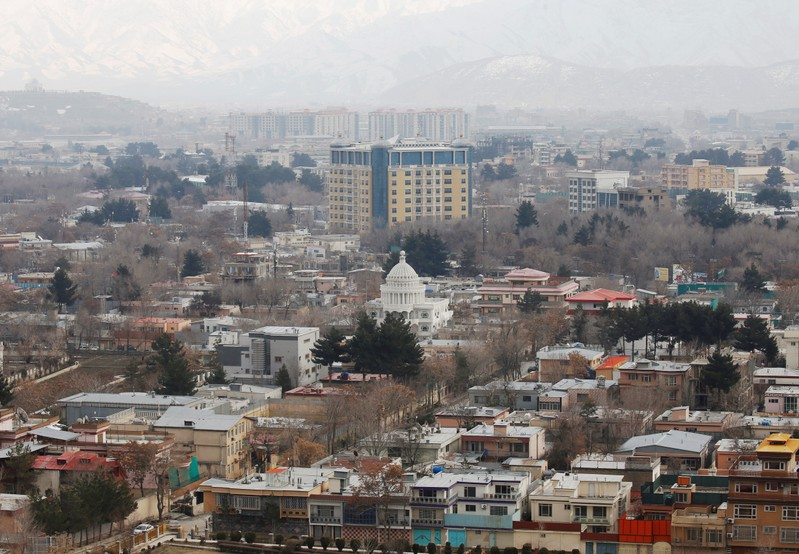 A general view of green zone in Kabul, Afghanistan